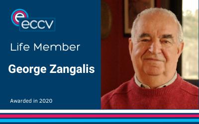 ECCV welcomes George Zangalis as a Life Member