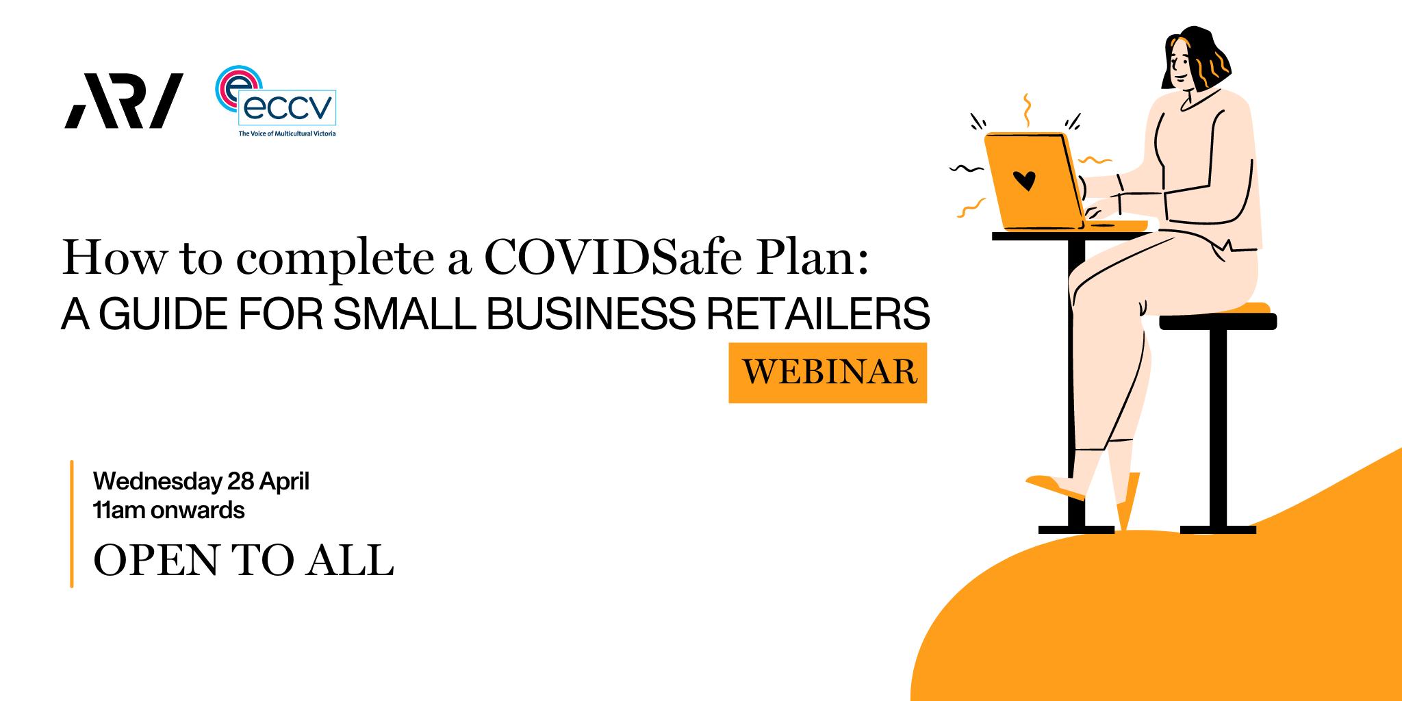 COVIDSafe Planning event details