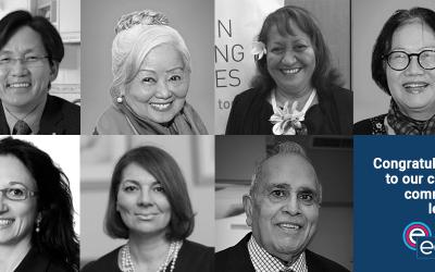 Former ECCV Chair, current members receive Queen's Birthday Honours