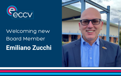 Welcoming the appointment of Emiliano Zucchi to ECCV Board