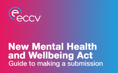 Call forECCVmember submissions to the Mental Health and Wellbeing Act