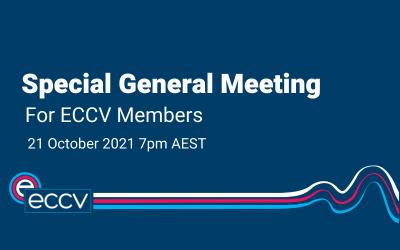 Special General Meeting of ECCV